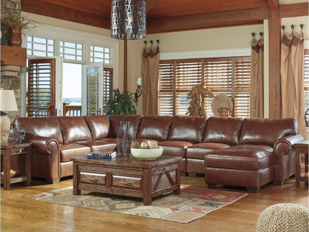 oh ashley piece mentor furniture best sectional signature product store banner dealer