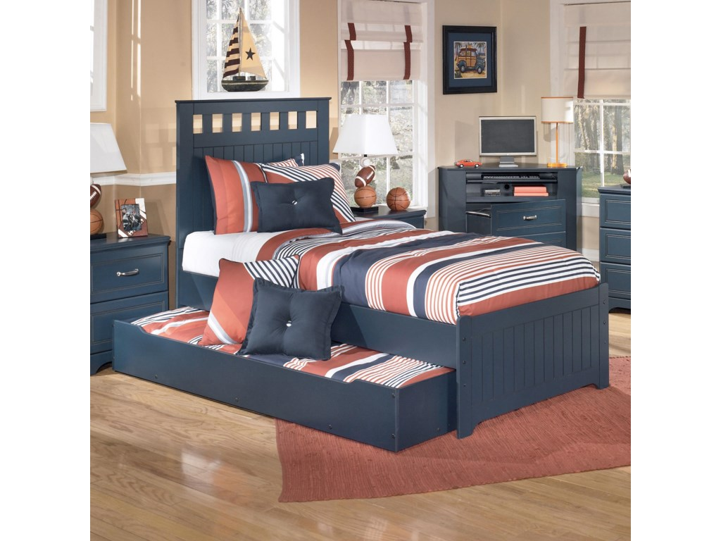 Shown Used as Trundle Bed