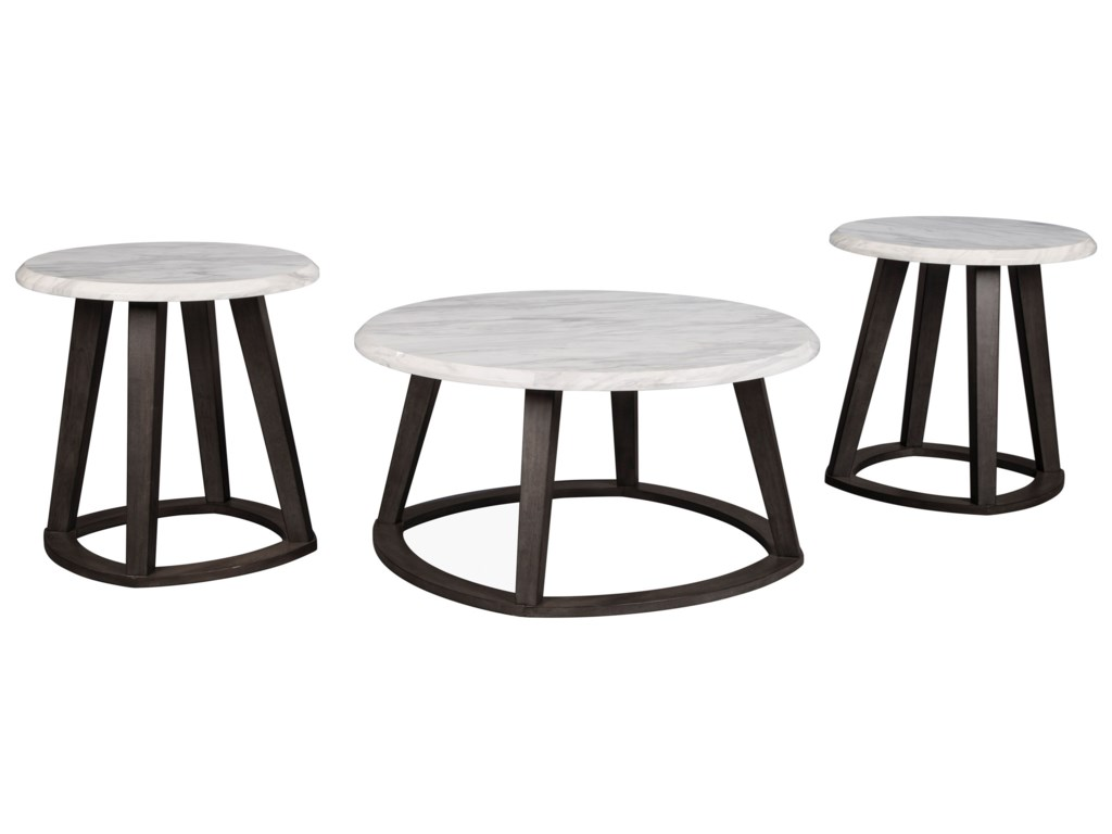 Signature Design by Ashley LuvoniOccasional Table Set