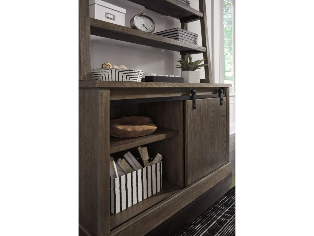 Signature Design by Ashley LuxenfordCredenza with Hutch
