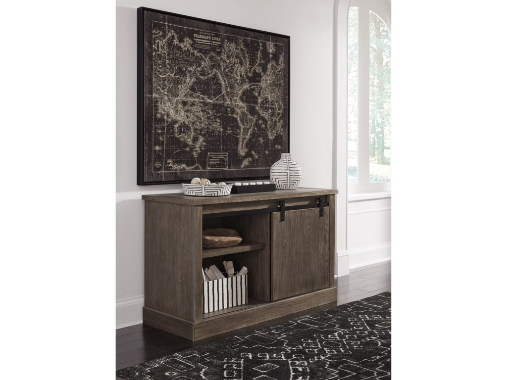Signature Design by Ashley LuxenfordLarge Credenza