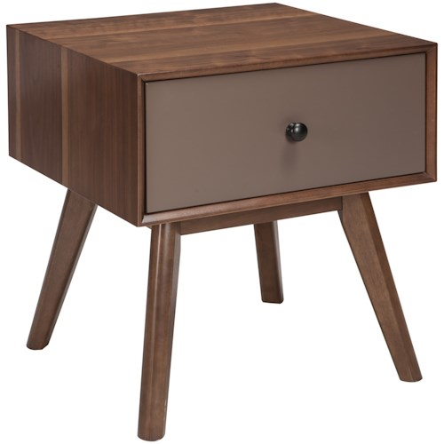 Signature Design by Ashley Lynnifer Rectangular End Table with Drawer