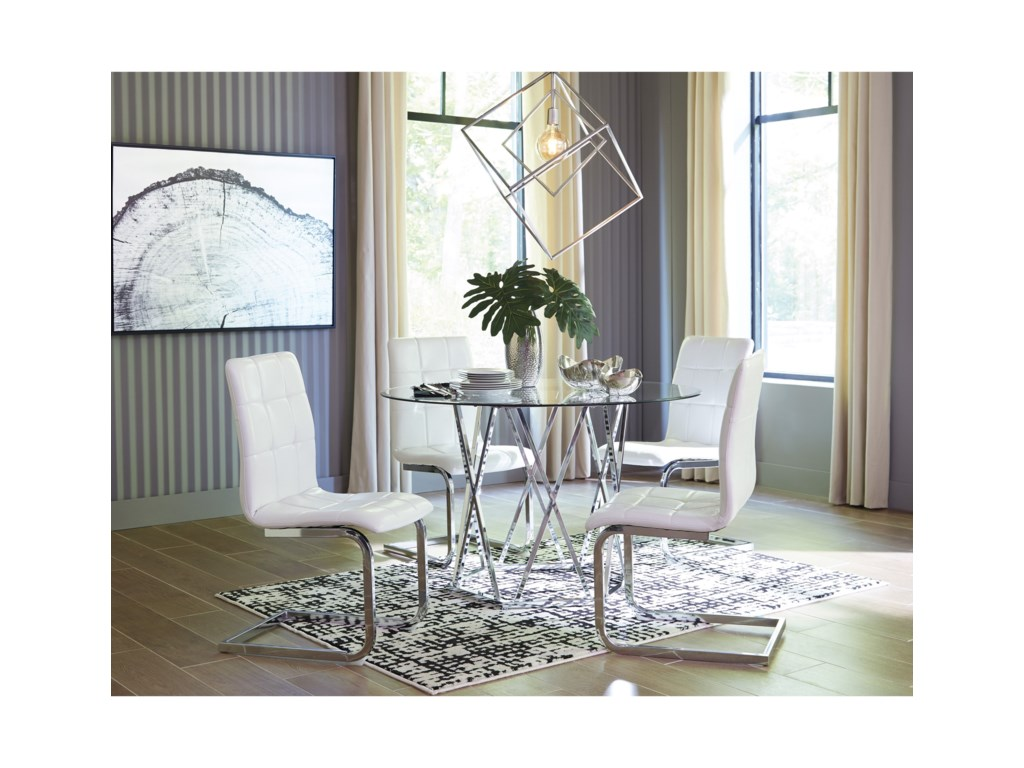 Signature Design by Ashley Madanere Dining Upholstered Side Chair
