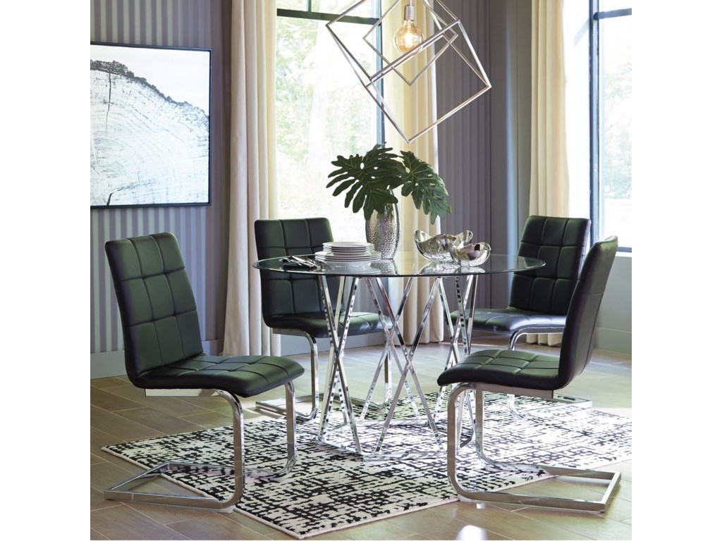 Signature Design by Ashley Madanere 5 Piece Dining Set