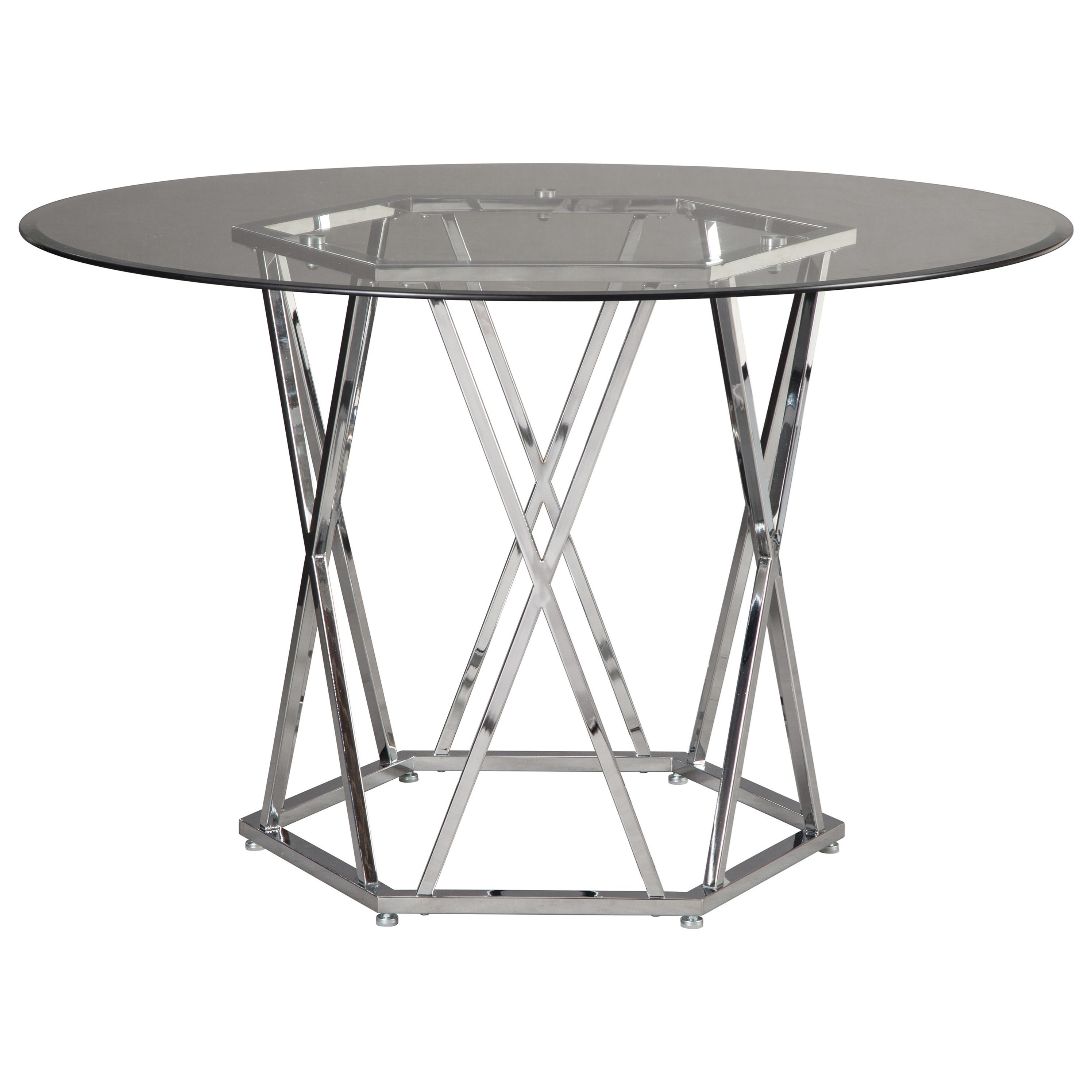 Merveilleux Signature Design By Ashley Madanere Round Dining Room Table ...