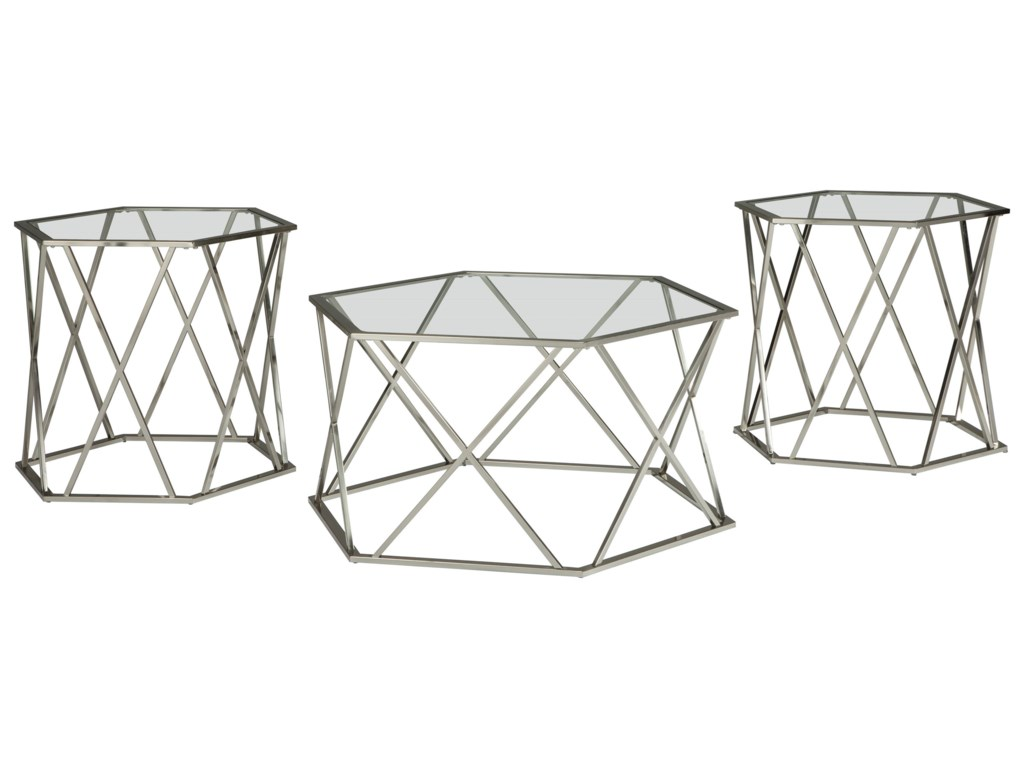 Signature Design by Ashley MadanereOccasional Table Set