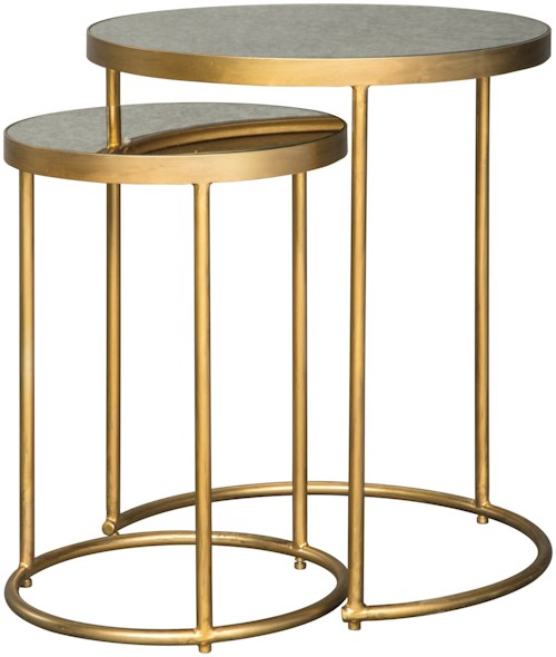 Signature Design by Ashley Majaci Set of 2 Nesting Accent Tables