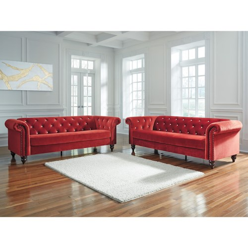 Signature Design by Ashley Malchin Stationary Living Room Group