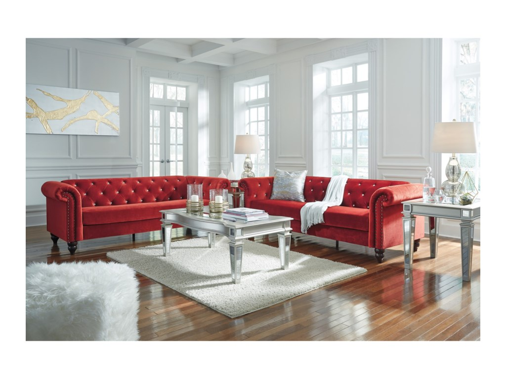 Ashley (Signature Design) MalchinStationary Living Room Group