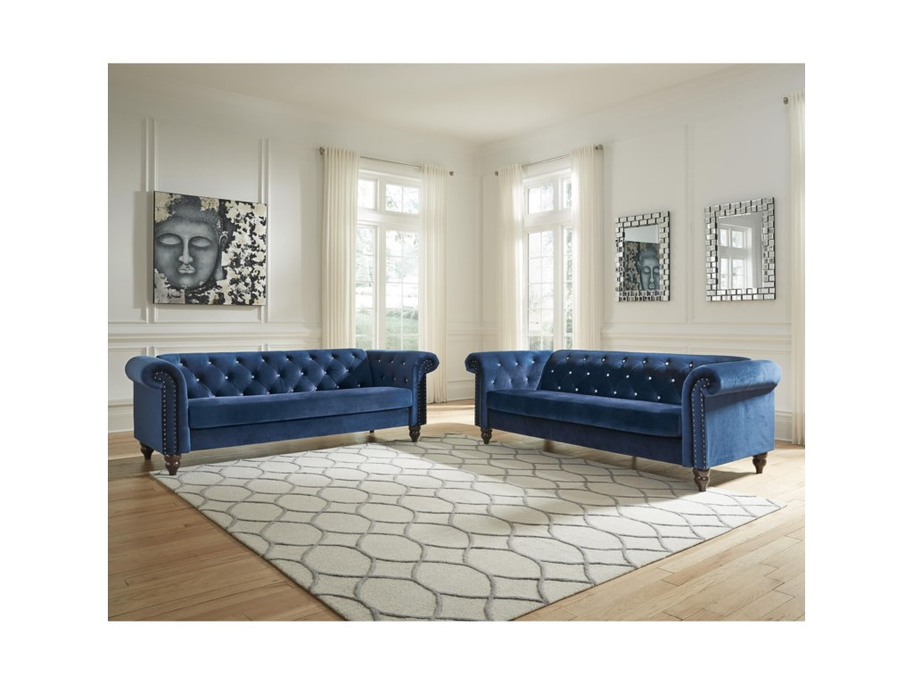 Signature Design by Ashley MalchinStationary Living Room Group