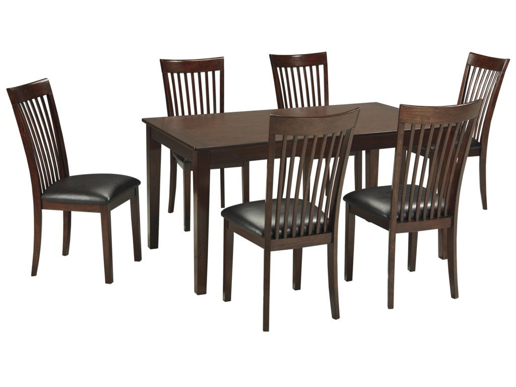 Signature Design by Ashley Mallenton Mission Style 7 Piece Dining ...