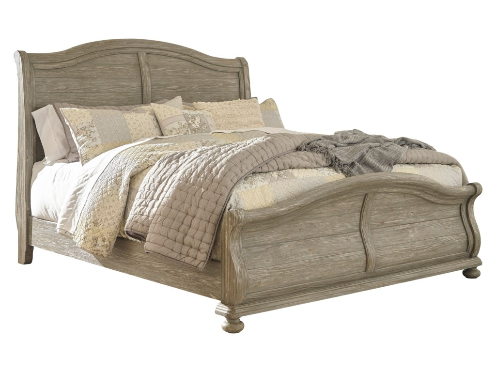 Signature Design by Ashley MarlenyKing Sleigh Bed