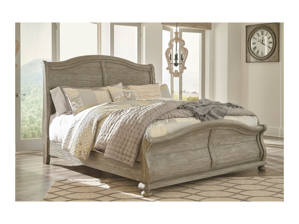 Signature Design by Ashley MarlenyQueen Sleigh Bed