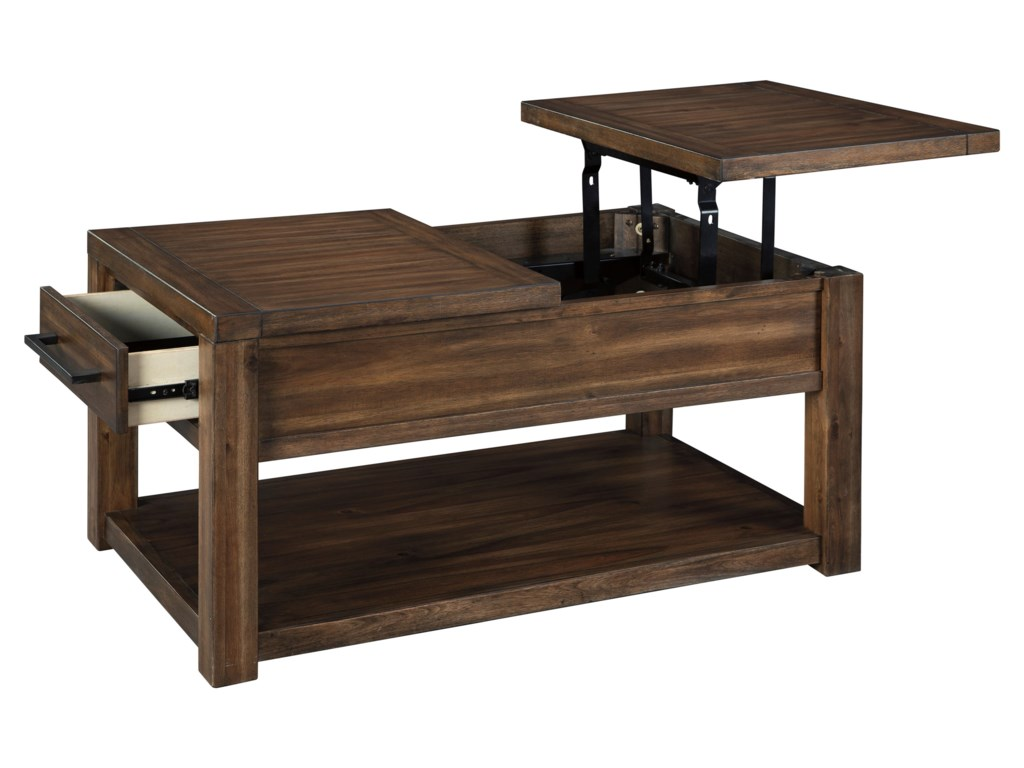 (Up to 50% OFF sale price) Collection # 3 MarlezaRectangular Lift Top Cocktail Table