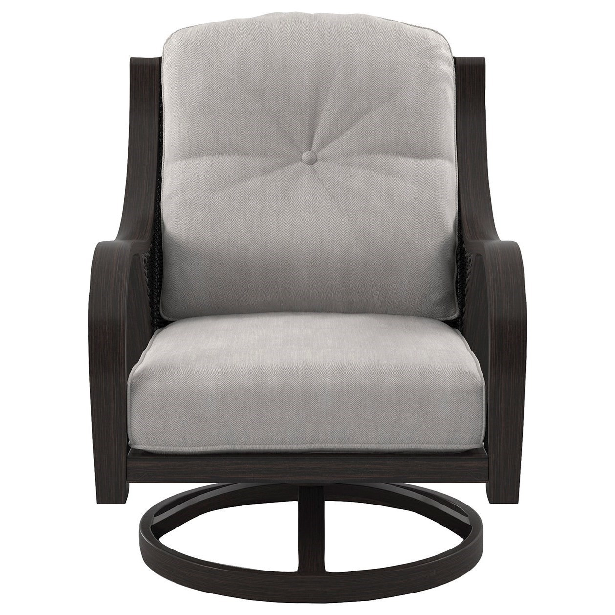 ... Signature Design By Ashley Marsh CreekSwivel Lounge Chair With Cushion  ...