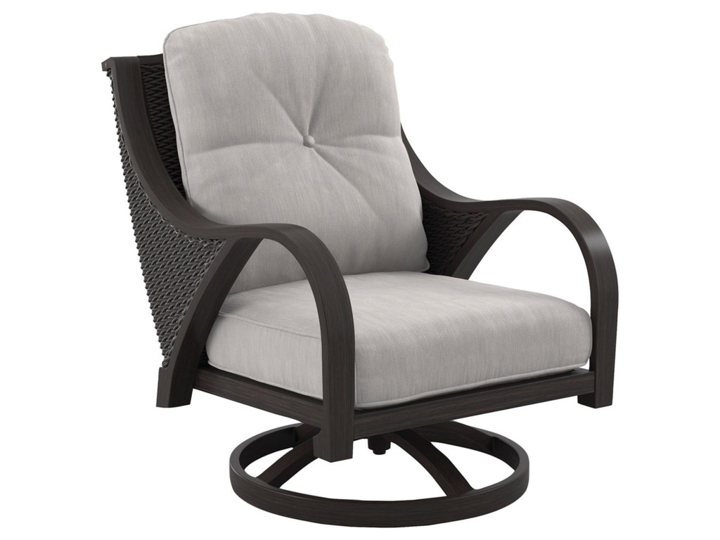 Ashley (Signature Design) Marsh CreekSwivel Lounge Chair with Cushion