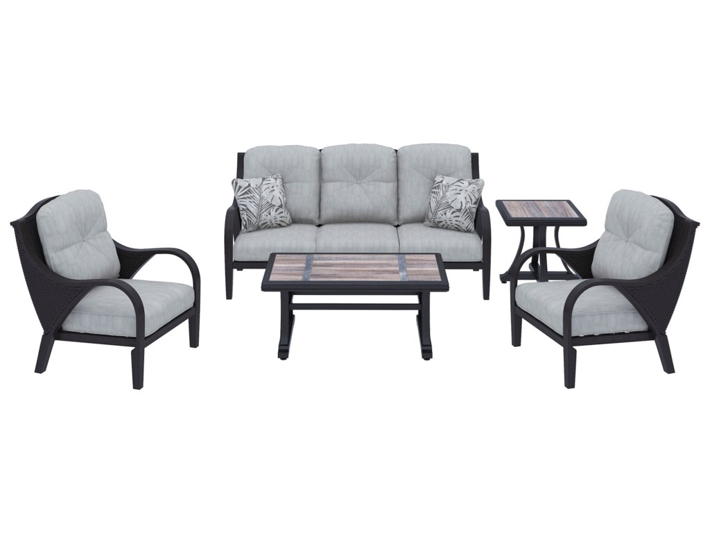 Signature Design by Ashley Marsh CreekOutdoor Conversation Set