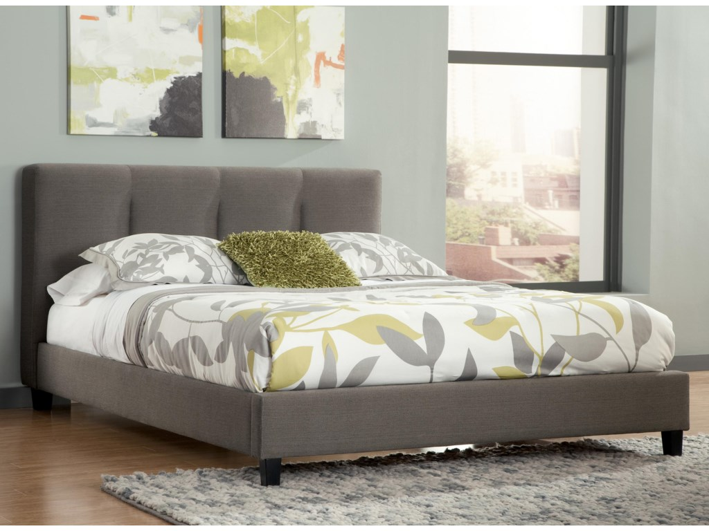 Signature Design by Ashley MastertonKing Upholstered Platform Bed