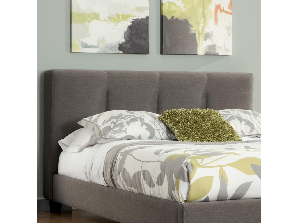Shown with Upholstered Footboard/Rails