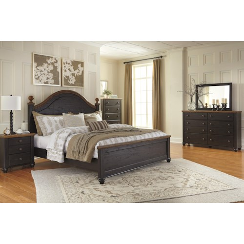 Signature Design by Ashley Maxington Queen Bedroom Group
