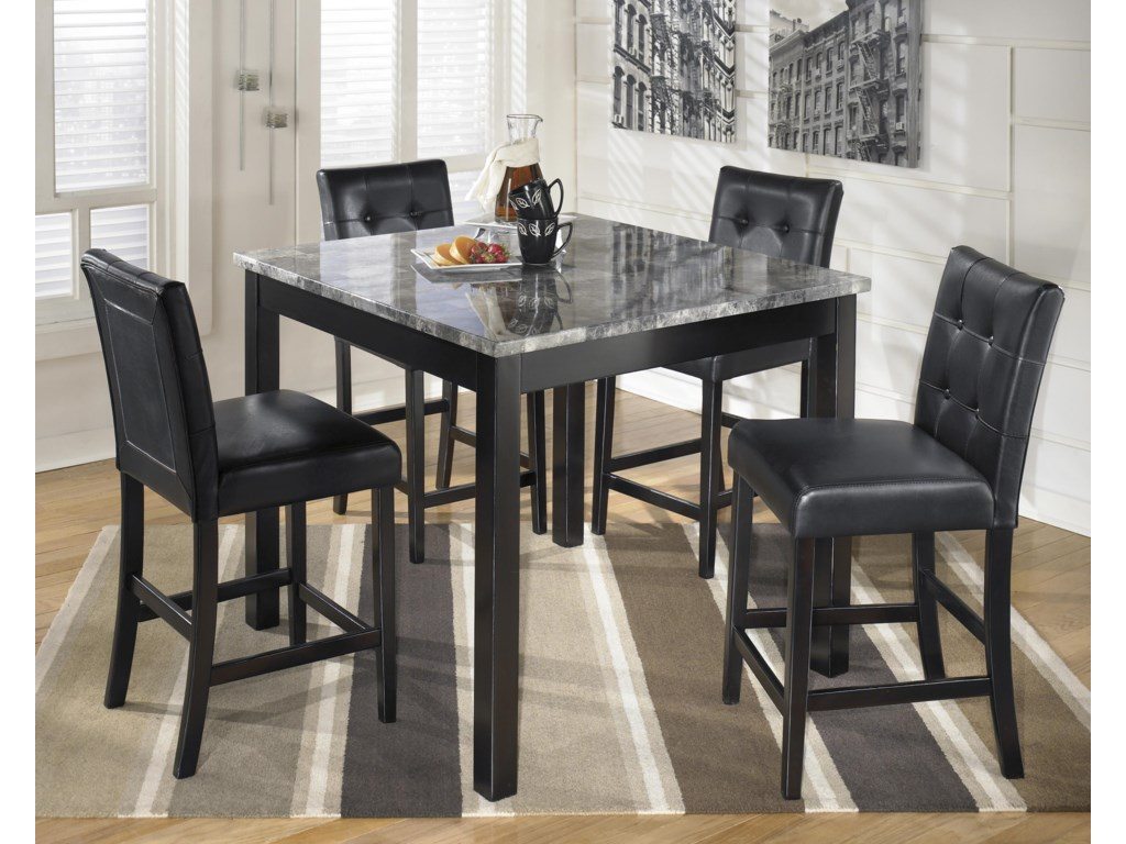 Signature Design by Ashley MaysvilleSquare Counter Table Set