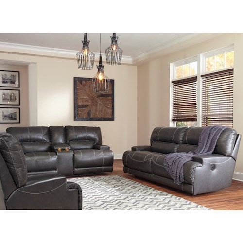 Signature Design by Ashley McCaskill Reclining Living Room Group