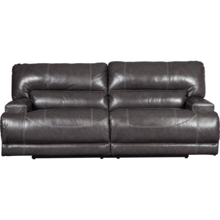 2-Seat Reclining Power Sofa