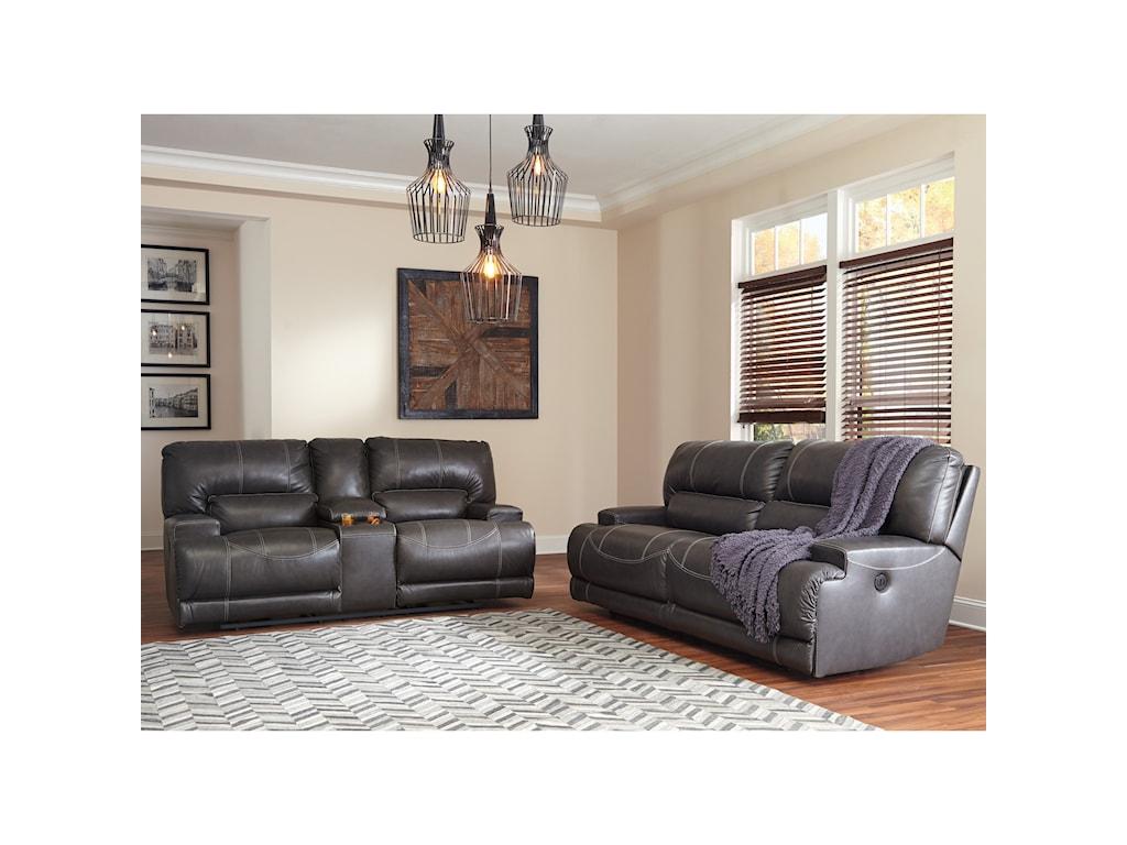 Signature Design by Ashley McCaskill2 Seat Reclining Sofa