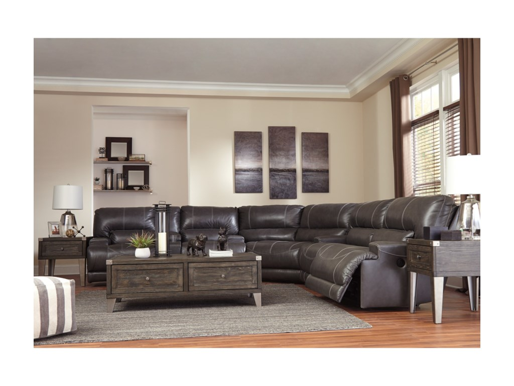 Signature Design by Ashley McCaskill3-Piece Power Reclining Sectional