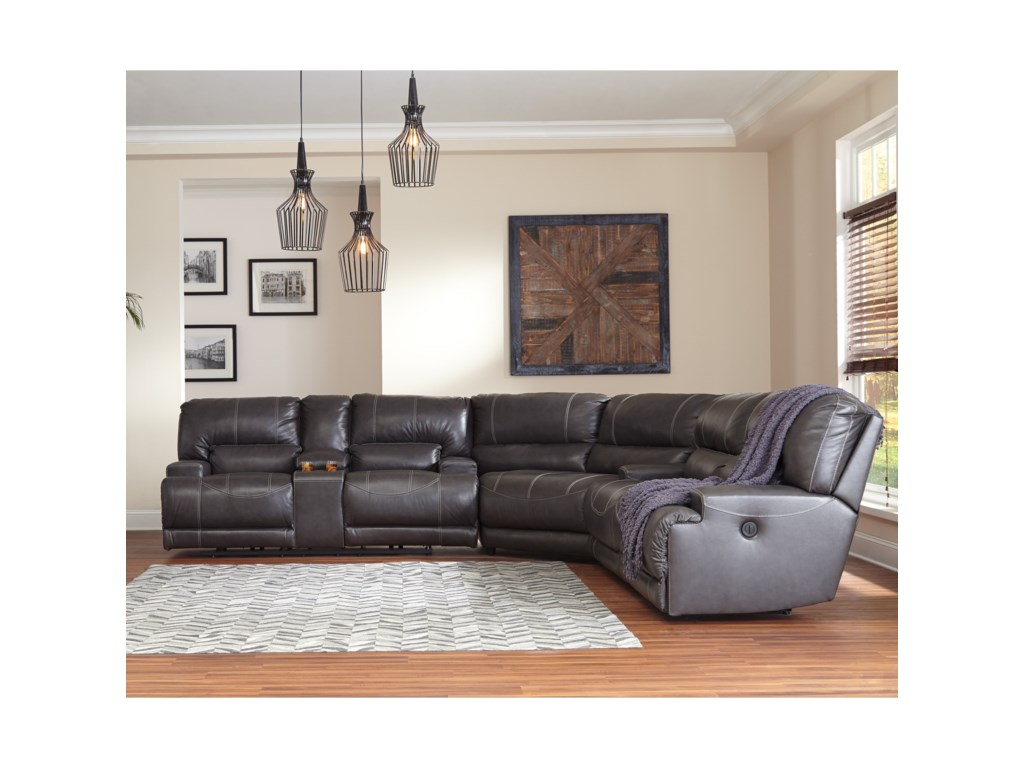 Signature Design by Ashley McCaskill3-Piece Reclining Sectional