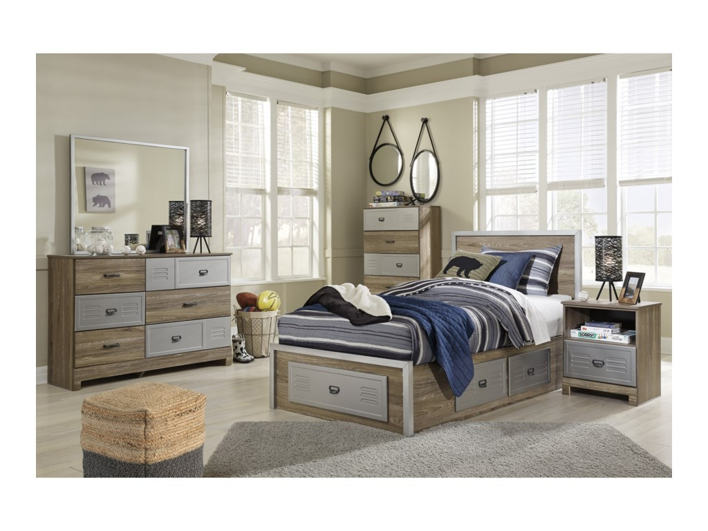 ashley with king size porter bedroom twin plus sets theme full bedding set bed rustic