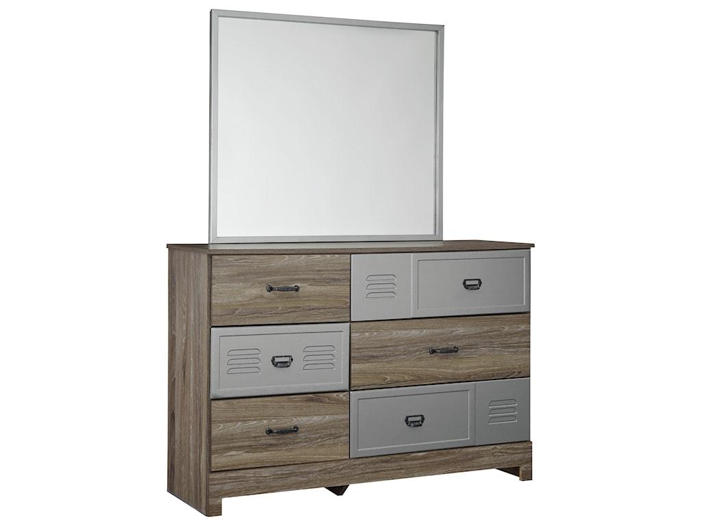 Benchcraft McKeethDresser & Bedroom Mirror