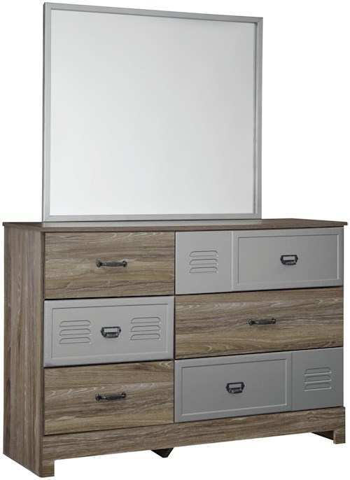 Signature Design by Ashley McKeeth Dresser & Bedroom Mirror