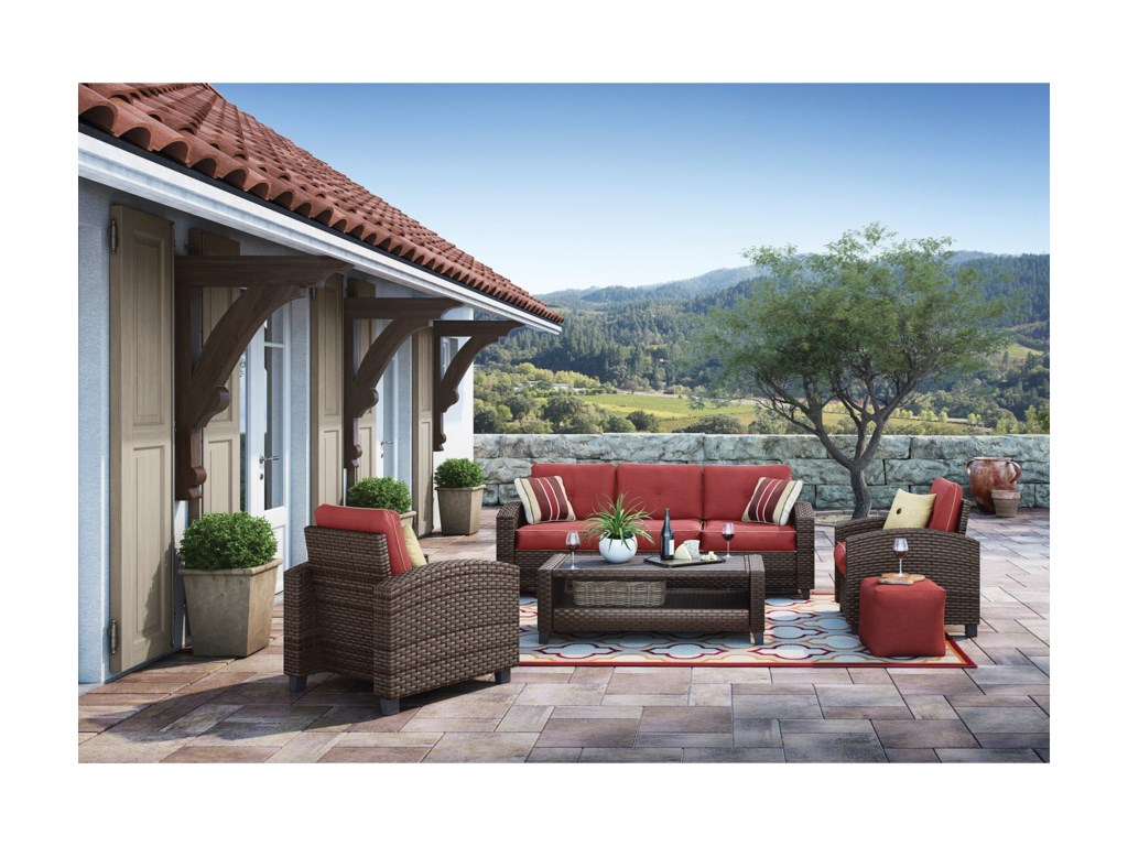 Signature Design by Ashley MeadowtownOutdoor Conversation Set