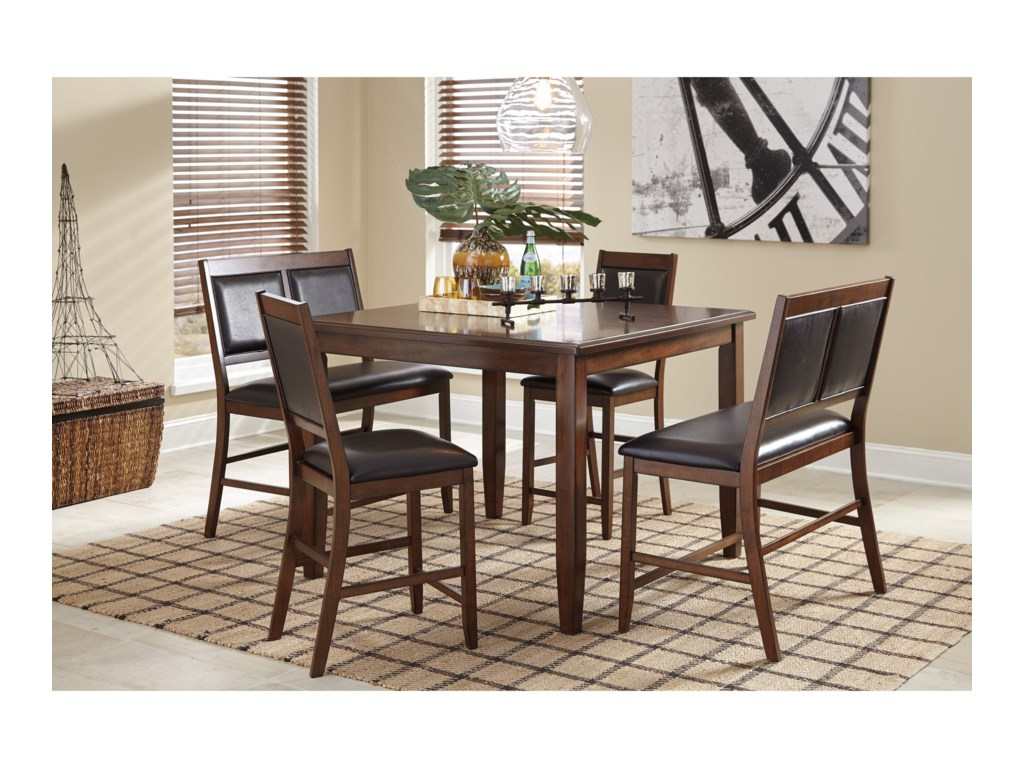 Signature Design by Ashley Meredy5-Piece Dining Room Counter Table Set