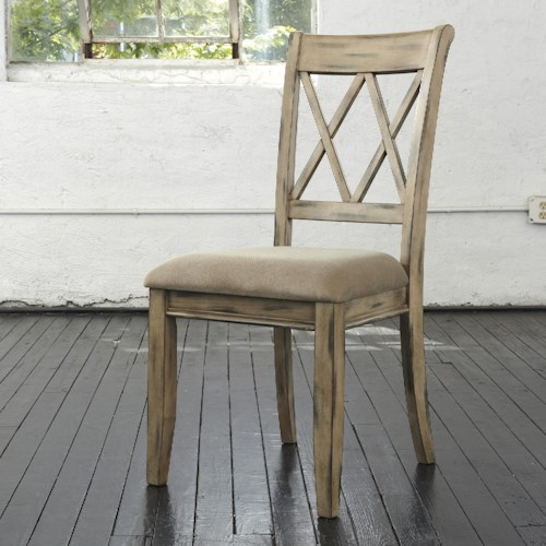 Signature Design By Ashley Mestler Dining Upholstered Side Chair Godby Home Furnishings