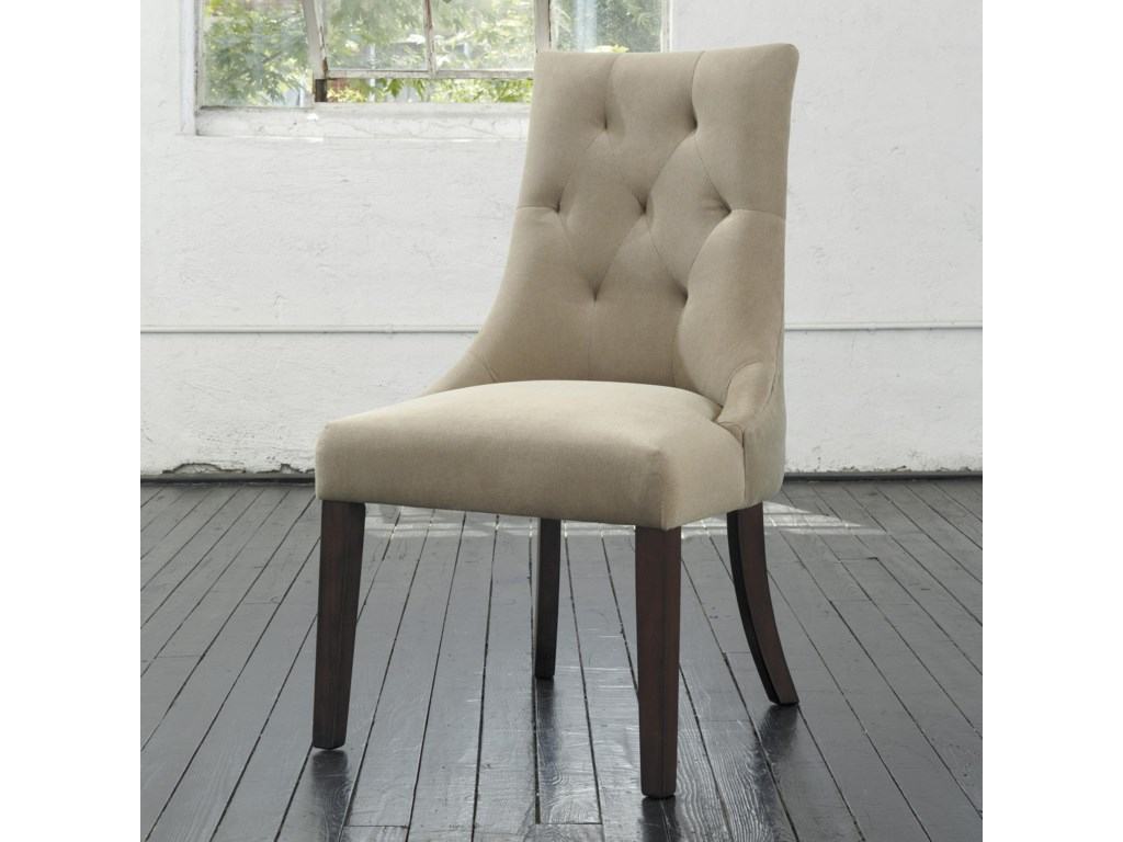 Ashley Signature Design Mestler Dining Upholstered Side Chair with ...