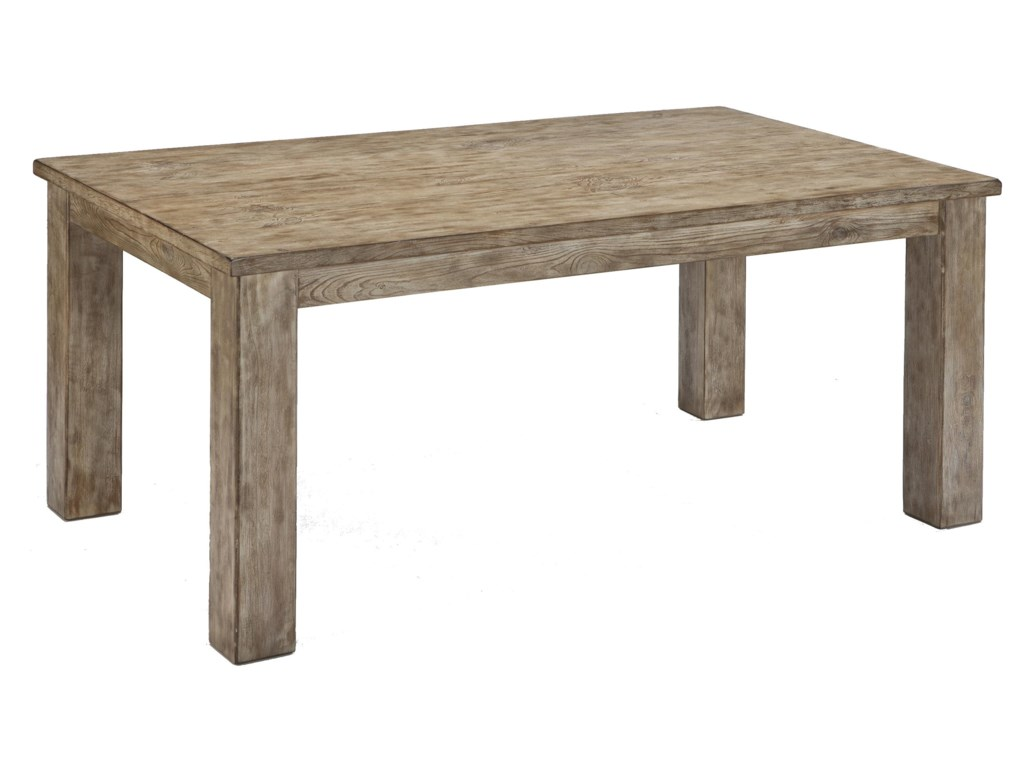 Signature design by ashley mestler driftwood finish rectangular signature design by ashley mestlerrectangular dining room table watchthetrailerfo