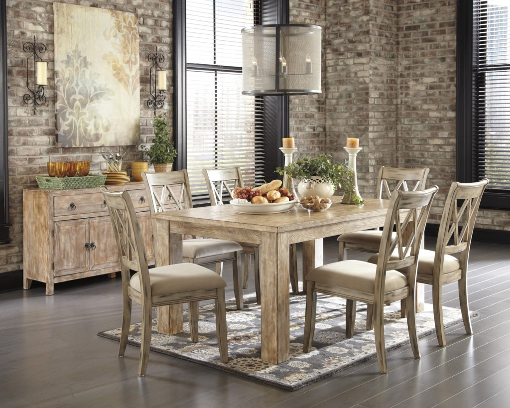 signature designashley mestler dining table - homeworld