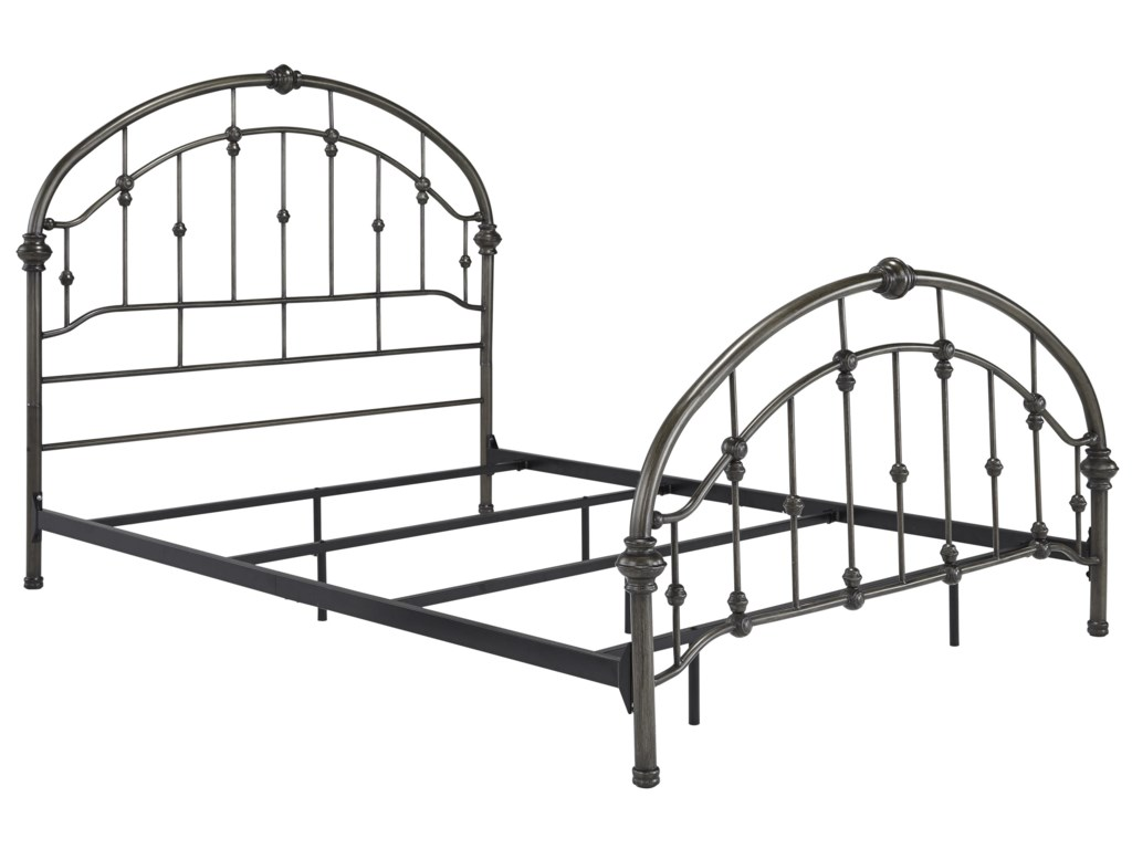 Signature Design by Ashley NashburgKing Metal Bed