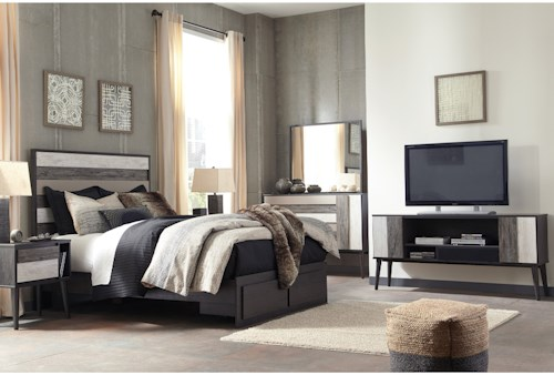 signature design by ashley micco queen bedroom group - Interior Design Groups