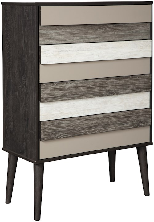 Signature Design by Ashley Micco Contemporary 4 Drawer Chest
