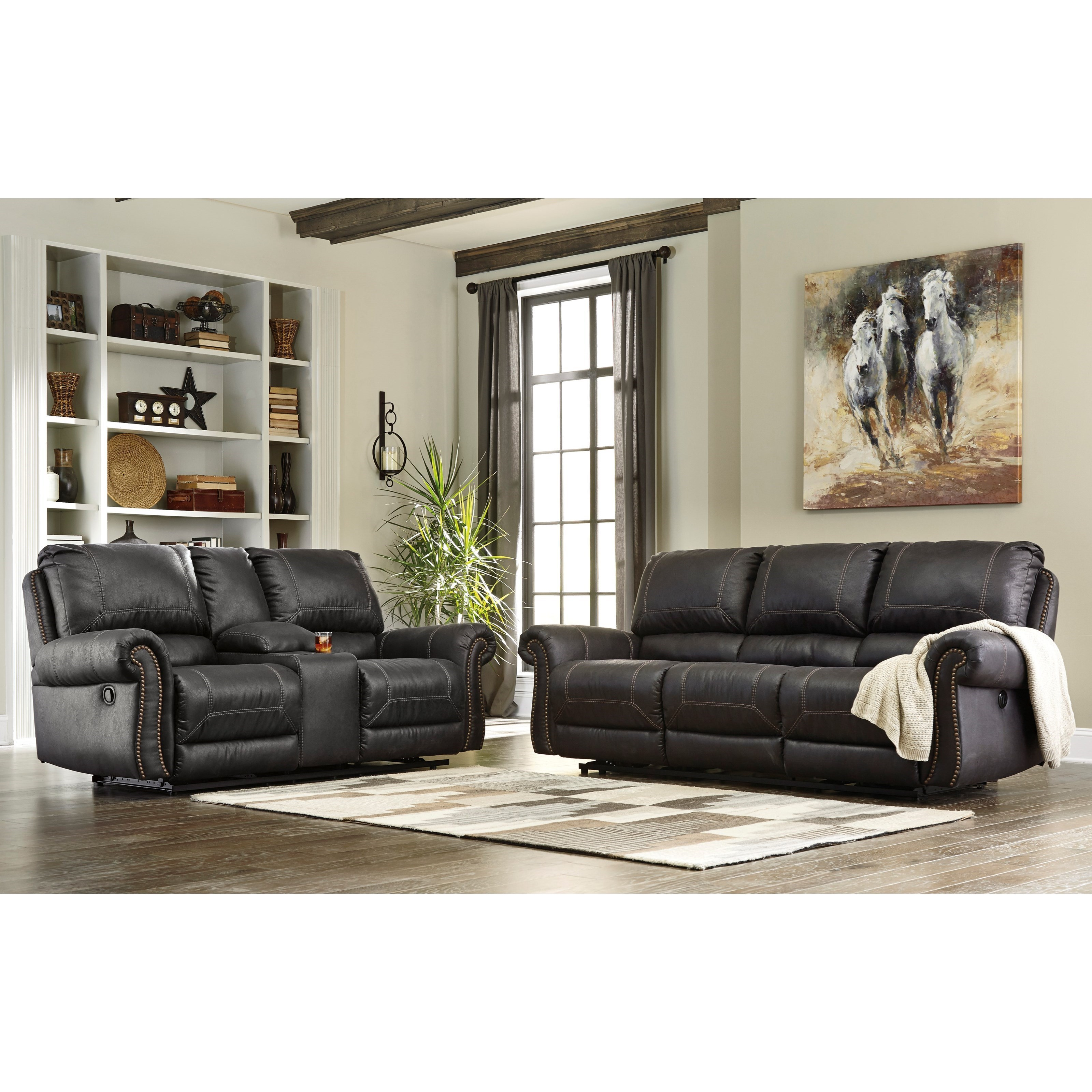 Signature Design by Ashley Milhaven Reclining Living Room Group