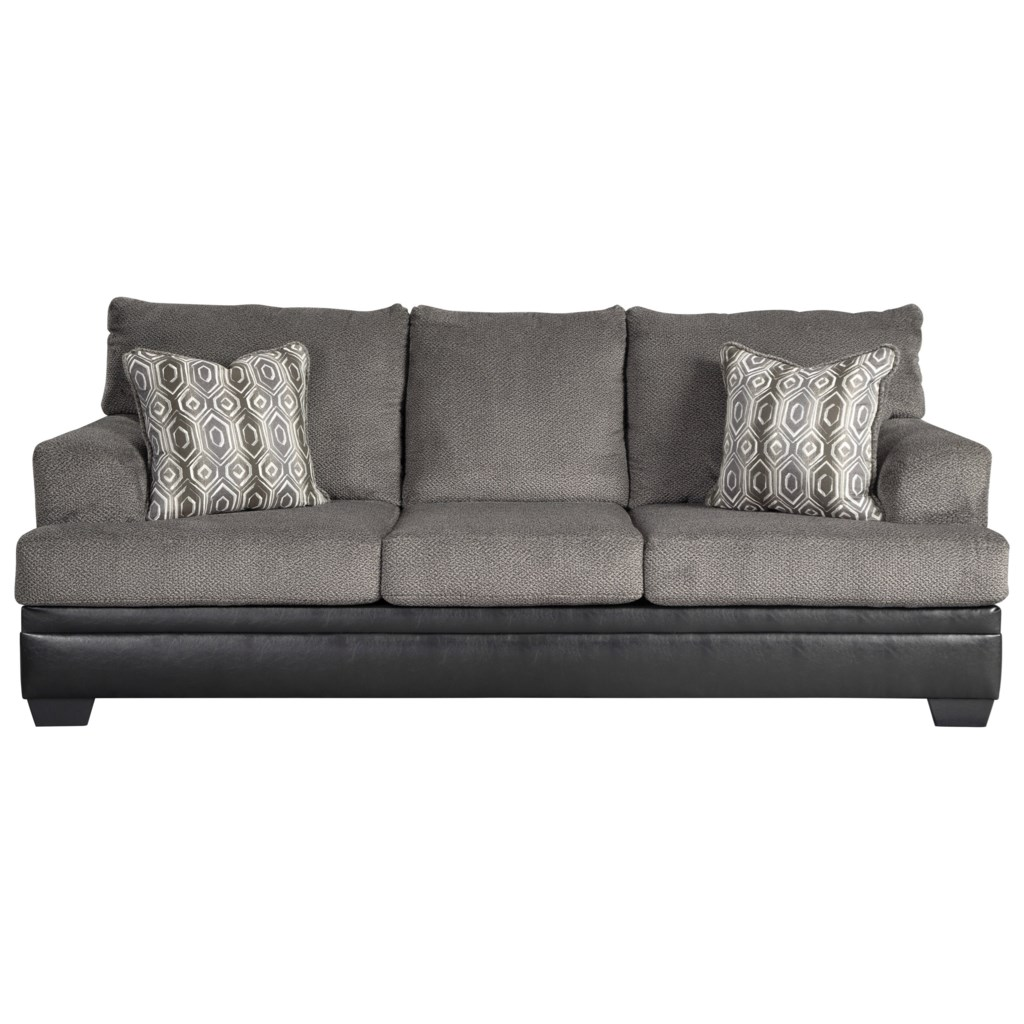 Signature Design By Ashley Millingar Queen Sofa Sleeper With Memory