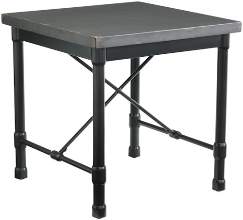 Signature Design by Ashley Minnona Industrial Square End Table