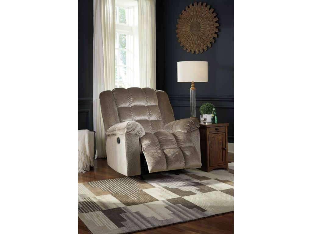 Signature Design by Ashley Minturn Power Rocker Recliner