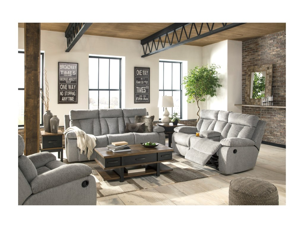 Signature Design by Ashley MitchinerReclining Living Room Group
