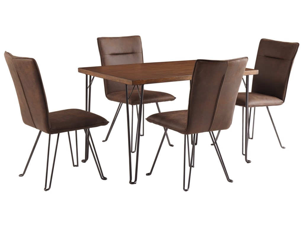 Signature Design by Ashley Moddano5 Piece Dining Table Set