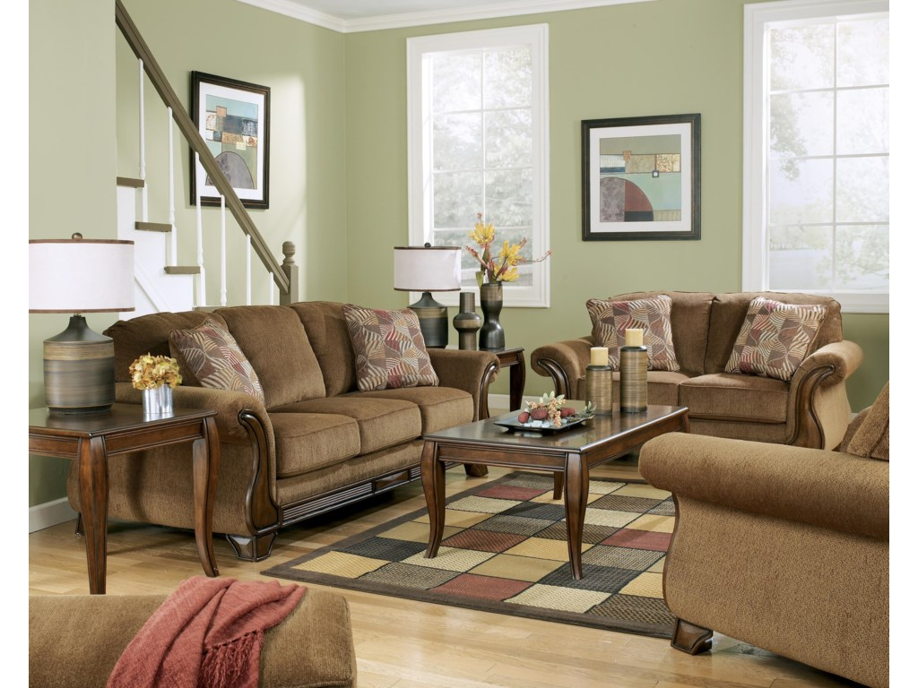 Shown with Ottoman, Loveseat, and Chair
