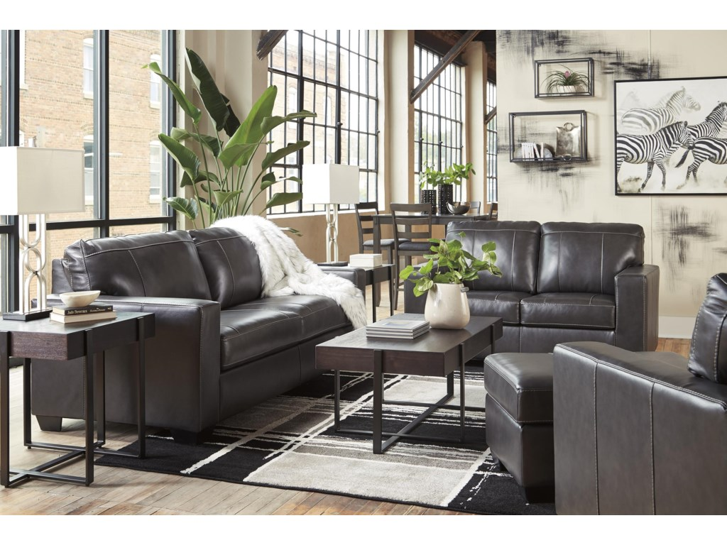 Signature Design by Ashley MorelosSofa, Loveseat and Chair Set